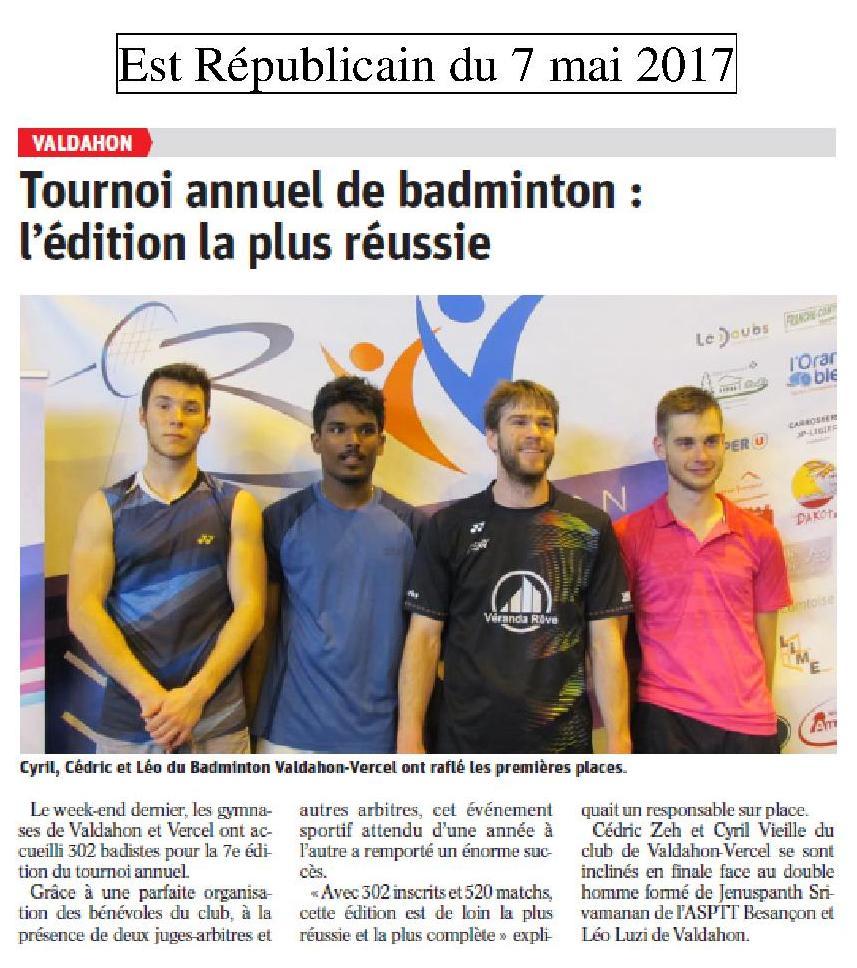 ER tournoi 2017